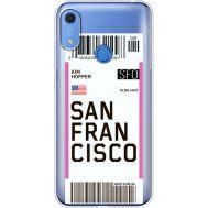Силиконовый чехол BoxFace Huawei Y6s Ticket San Francisco (38865-cc79)
