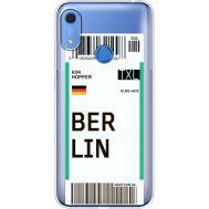 Силиконовый чехол BoxFace Huawei Y6s Ticket Berrlin (38865-cc80)