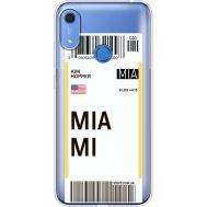 Силиконовый чехол BoxFace Huawei Y6s Ticket Miami (38865-cc81)