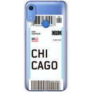 Силиконовый чехол BoxFace Huawei Y6s Ticket Chicago (38865-cc82)