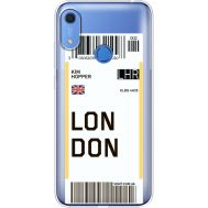 Силиконовый чехол BoxFace Huawei Y6s Ticket London (38865-cc83)