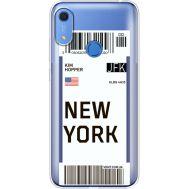 Силиконовый чехол BoxFace Huawei Y6s Ticket New York (38865-cc84)
