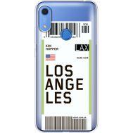 Силиконовый чехол BoxFace Huawei Y6s Ticket Los Angeles (38865-cc85)