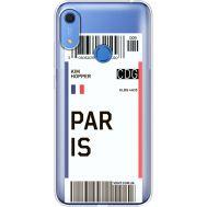 Силиконовый чехол BoxFace Huawei Y6s Ticket Paris (38865-cc86)