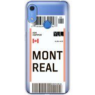 Силиконовый чехол BoxFace Huawei Y6s Ticket Monreal (38865-cc87)