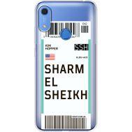 Силиконовый чехол BoxFace Huawei Y6s Ticket Sharmel Sheikh (38865-cc90)