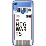 Силиконовый чехол BoxFace Huawei Y6s Ticket Hogwarts (38865-cc91)