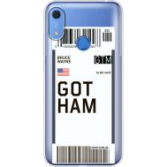 Силиконовый чехол BoxFace Huawei Y6s Ticket Gotham (38865-cc92)