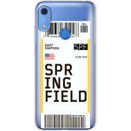 Силиконовый чехол BoxFace Huawei Y6s Ticket Springfield (38865-cc93)