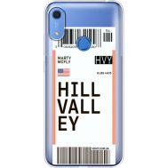 Силиконовый чехол BoxFace Huawei Y6s Ticket Hill Valley (38865-cc94)