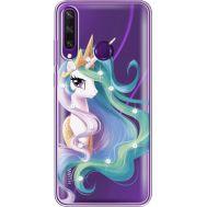Силиконовый чехол BoxFace Huawei Y6p Unicorn Queen (940018-rs3)
