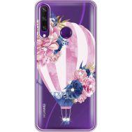 Силиконовый чехол BoxFace Huawei Y6p Pink Air Baloon (940018-rs6)