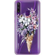 Силиконовый чехол BoxFace Huawei Y6p Ice Cream Flowers (940018-rs17)