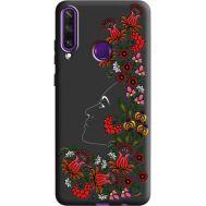 Силиконовый чехол BoxFace Huawei Y6p 3D Ukrainian Muse (40308-bk64)