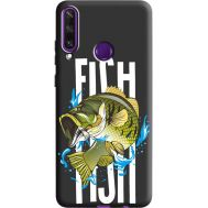 Силиконовый чехол BoxFace Huawei Y6p Fish (40308-bk71)