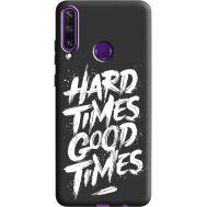 Силиконовый чехол BoxFace Huawei Y6p hard times good times (40308-bk72)
