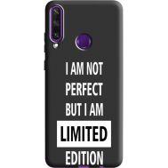 Силиконовый чехол BoxFace Huawei Y6p limited edition (40308-bk73)