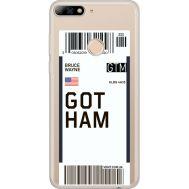 Силиконовый чехол BoxFace Huawei Y7 Prime 2018 Gotham (34966-cc92)