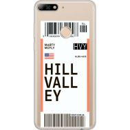 Силиконовый чехол BoxFace Huawei Y7 Prime 2018 Hill Valley (34966-cc94)