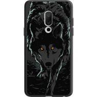 Силиконовый чехол BoxFace Meizu 15 Wolf (36137-bk62)