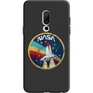 Силиконовый чехол BoxFace Meizu 15 NASA (36137-bk70)