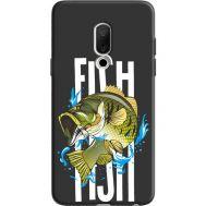 Силиконовый чехол BoxFace Meizu 15 Fish (36137-bk71)