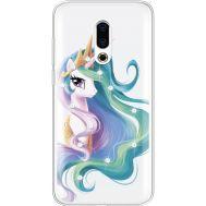 Силиконовый чехол BoxFace Meizu 16 Plus Unicorn Queen (935584-rs3)