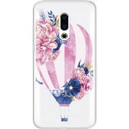 Силиконовый чехол BoxFace Meizu 16 Plus Pink Air Baloon (935584-rs6)