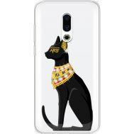 Силиконовый чехол BoxFace Meizu 16 Plus Egipet Cat (935584-rs8)