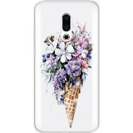 Силиконовый чехол BoxFace Meizu 16 Plus Ice Cream Flowers (935584-rs17)