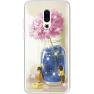 Силиконовый чехол BoxFace Meizu 16 Plus Little Boy and Girl (935584-rs18)
