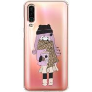 Силиконовый чехол BoxFace Meizu 16Xs Winter Morning Girl (37412-cc61)