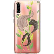 Силиконовый чехол BoxFace Meizu 16Xs Cute Mermaid (37412-cc62)