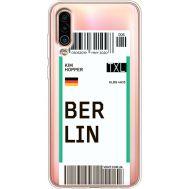 Силиконовый чехол BoxFace Meizu 16Xs Ticket Berrlin (37412-cc80)