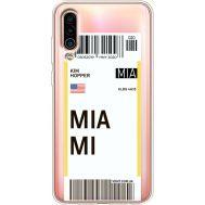Силиконовый чехол BoxFace Meizu 16Xs Ticket Miami (37412-cc81)