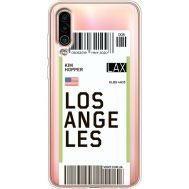 Силиконовый чехол BoxFace Meizu 16Xs Ticket Los Angeles (37412-cc85)