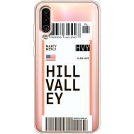 Силиконовый чехол BoxFace Meizu 16Xs Ticket Hill Valley (37412-cc94)