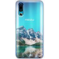 Силиконовый чехол BoxFace Meizu 16s Blue Mountain (37984-cc68)