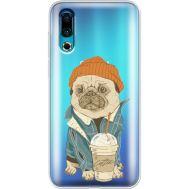 Силиконовый чехол BoxFace Meizu 16s Dog Coffeeman (37984-cc70)
