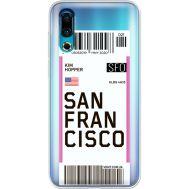 Силиконовый чехол BoxFace Meizu 16s Ticket San Francisco (37984-cc79)