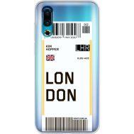 Силиконовый чехол BoxFace Meizu 16s Ticket London (37984-cc83)