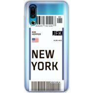 Силиконовый чехол BoxFace Meizu 16s Ticket New York (37984-cc84)