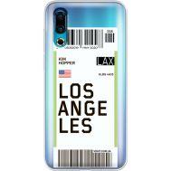 Силиконовый чехол BoxFace Meizu 16s Ticket Los Angeles (37984-cc85)