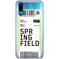 Силиконовый чехол BoxFace Meizu 16s Ticket Springfield (37984-cc93)