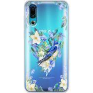 Силиконовый чехол BoxFace Meizu 16s Spring Bird (37984-cc96)