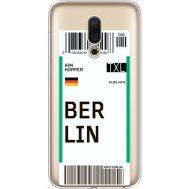 Силиконовый чехол BoxFace Meizu 16 Ticket Berrlin (35190-cc80)