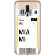 Силиконовый чехол BoxFace Meizu 16 Ticket Miami (35190-cc81)