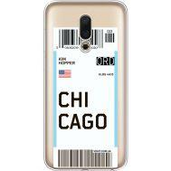Силиконовый чехол BoxFace Meizu 16 Ticket Chicago (35190-cc82)
