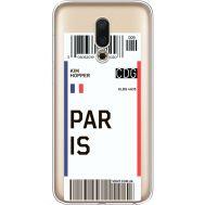 Силиконовый чехол BoxFace Meizu 16 Ticket Paris (35190-cc86)