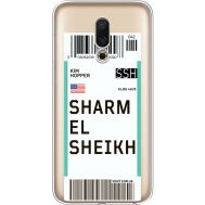 Силиконовый чехол BoxFace Meizu 16 Ticket Sharmel Sheikh (35190-cc90)